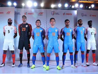 Indian Football team to kick off AFC Asian Cup 2019 campaign with new kit and sponsor