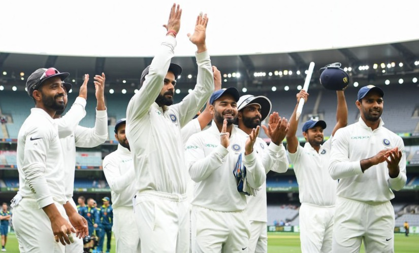 Virat Kohli-led Indian side became the first Asian team to register victories in South Africa, England and Australia in a calendar year. Image courtesy: Twitter @BCCI