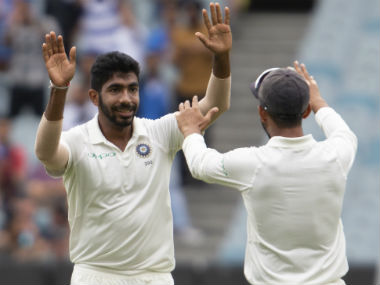 Jasprit Bumrah is now the leading wicket-taker across formats in international cricket in the year 2018. AP