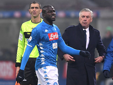 Serie A Inter Milan to play two matches behind close doors as punishment for racist chants towards Kalidou Koulibaly