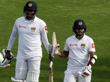 Angelo Mathews and Kusal Mendis combined for a record 274-run partnership to help Sri Lanka save the first Test. AP