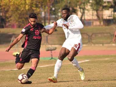 ILeague 201819 Late Henry Kisekka strike powers Mohun Bagan to victory over reigning champions Minerva FC