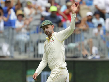 Nathan Lyon's haul of 5/67 played a key role in Australia restricting India to 283. AP