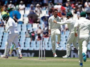 Duanne Olivier was declared Player of the Match for his 11 wickets in the first Test against Pakistan. AP