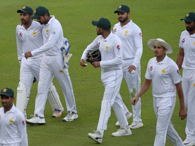 Pakistan start their Test series against South Africa on 26 December. AFP