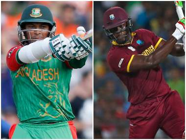 Shakib Al Hasan and Carlos Brathwaite will be leading Bangladesh and West Indies respectively in the T20I series. Reuters