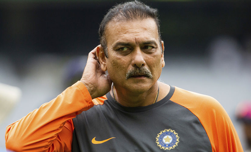India's coach Ravi Shastri reacts at the end of day five of the third cricket test between India and Australia in Melbourne, Australia, Sunday, Dec. 30, 2018. (AP Photo/Asanka Brendon Ratnayake)