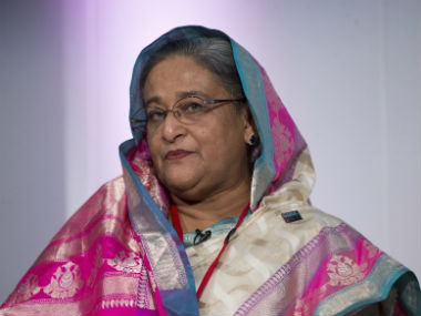 File image of Bangladesh prime minister Sheikh Hasina. Reuters