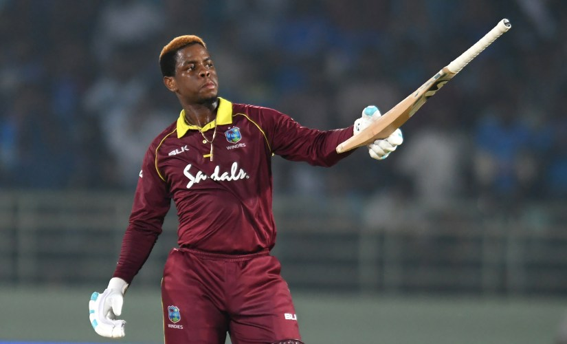 Shimron Hetmyer finished as the third-highest run-scorer in the Caribbean Premier League in 2018. AFP