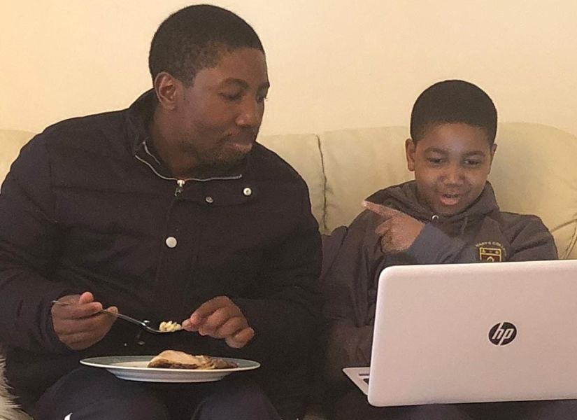 """""""Cricket remained at the ground and when I went home, I wanted my boy to know me as dad and not as a superstar."""" Image courtesy Tatenda Taibu"""