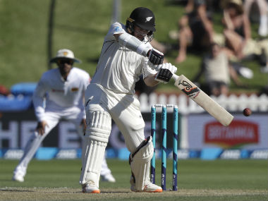 Tom Latham earlier brought up his seventh Test century, forging a solid partnership with Kane Williamson. AP
