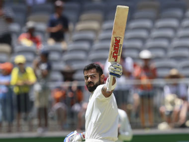 Virat Kohli also brought up his sixth Test century in Australia, drawing level with batting legend Sachin Tendulkar. AP