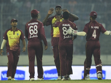 Windies win T20I series 2-1 against Bangladesh. AFP