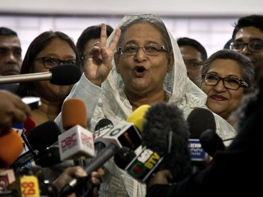Bangladesh election Voting ends as per schedule 13 killed in violence Sheikh Hasina says she is confident of victory