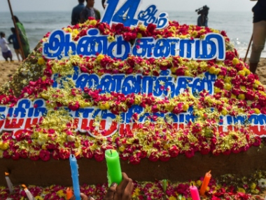 Tamil Nadu Puducherry remember victims of 2004 Tsunami kin pay tribute on 14th anniversary of natural disaster