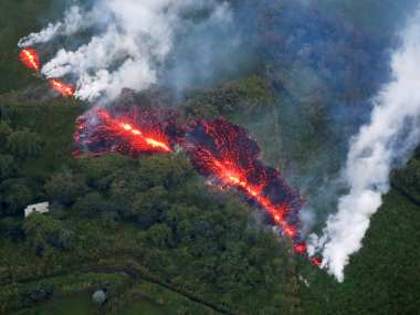 Lavatype eruption creates panic in Tripuras Jalifa village scientists say low chance of actual active volcano in region