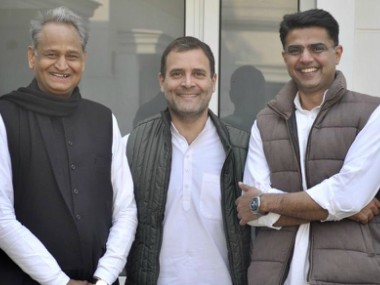 Congress president Rahul Gandhi set to announce new Rajasthan chief minister at 430 pm today