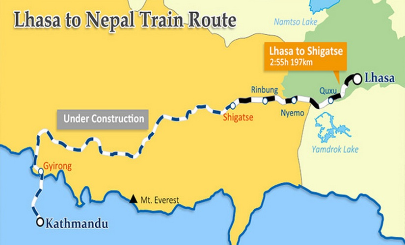 Proposed ChinaNepal railway expected to be gamechanger may reduce Indias influence on Himalayan nation