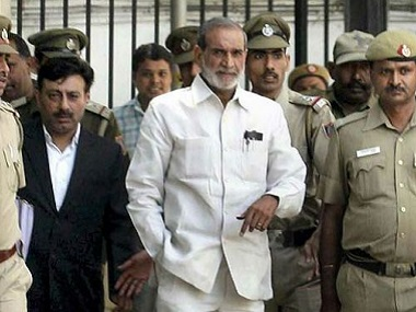 Sajjan Kumar sentenced to life in 1984 antiSikh riots case Delhi HC reverses Congress leaders acquittal citing abject failure by agencies
