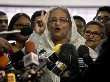 Bangladesh elections Sheikh Hasinas return to power means less worries for India New Delhi can focus more on western border