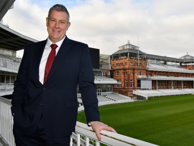 File image of ECB director of cricket Ashley Giles. AFP