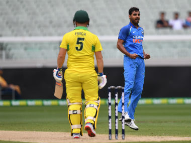 Bhuvneshwar Kumar finished as the leading wicket-taker in the ODI series with eight scalps. AP