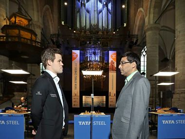 Viswanathan Anand has accepted the invitation and CAB are waiting for Magnus Carlsen's nod. Image Courtesy: Alina L'ami