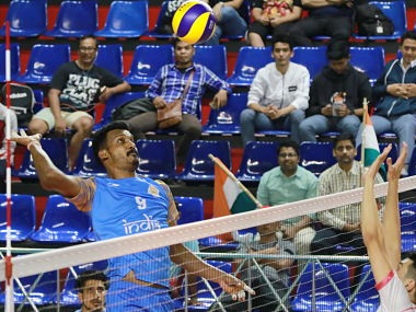 Pro Volleyball League Dipesh Kumar Sinhas journey from Naxal conflicthit town of Dantewada to playing for India