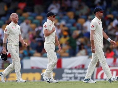 England lost first Test by 381 runs against West Indies. Reuters