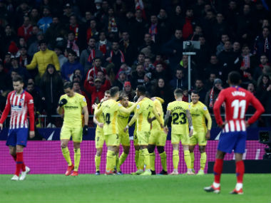 Copa del Rey Atletico crash out as Girona progress on away goals after thrilling draw Real Madrid Sevilla avoid upsets