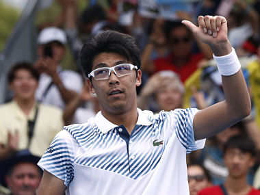 Australian Open 2019 Hyeon Chung fights back from two sets down to beat Bradley Klahn in first round
