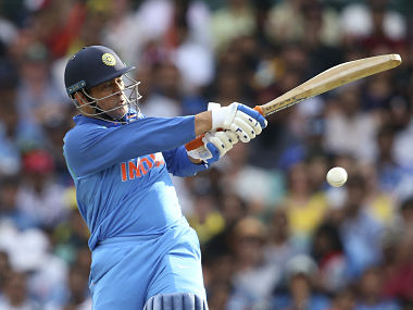 MS Dhoni scored 51 off 96 balls before getting out in first ODI at SCG. AP