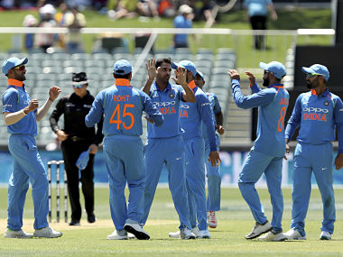 File picture of the members of Indian cricket team. AP