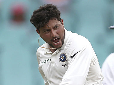 Kuldeep Yadav took 2 wickets on Day 2 against South Africa A. AP