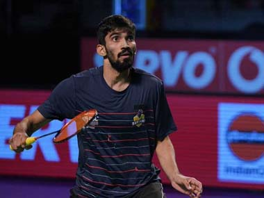 Ace Indian shuttler Kidambi Srikanth pulls out of China Korea Open due to knee injury