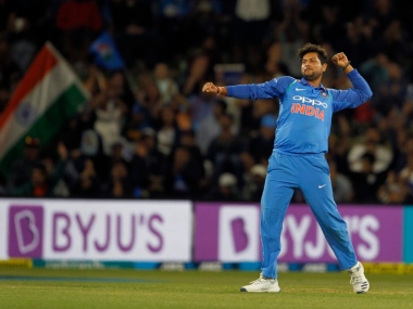 File image of Kuldeep Yadav. Twitter @BCCI