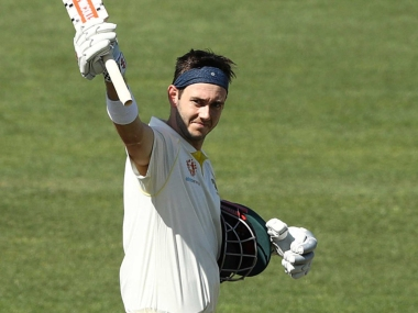 Kurtis Patterson will be making his Test debut for Australia at Gabba. Twitter @cricketcomau