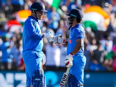 Kedar Jadhav said Mahendra Singh Dhoni shoulders bulk of the responsibility when it comes to scoring runs during the middle and final overs. AP