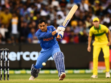 MS Dhoni remained unbeaten on 87, forging an unbroken 121-run stand with Kedar Jadhav for the fourth wicket. AFP