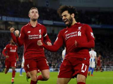 Premier League Liverpool survive Crystal Palace scare to extend lead at the top Manchester United edge past Brighton