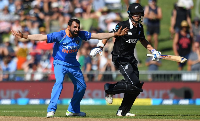 Mohammed Shami took three wickets for 19 in six overs in Napier ODI. AP