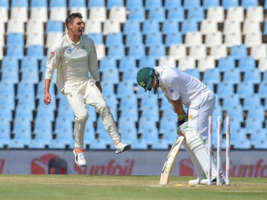 Pakistan went down 0-3 to South Africa. AFP