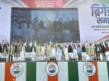 Mamata Banerjees rally a platform for Opposition show of strength leaders stress need to oust BJP from Centre