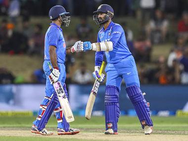 Ambati Rayudu and Dinesh Karthik would be looking to make the most in absence of Virat Kohli. AP