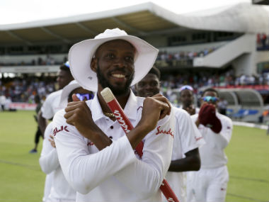 Roston Chase's figures of 8/60 played a key role in West Indies bowling England out for 246 after setting an improbably 628-run target. AP