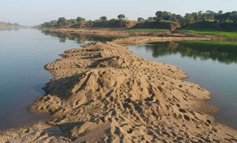 Illegal sand mining Congress govt in Madhya Pradesh fails to address menace despite tall prepoll promises state rivers suffer