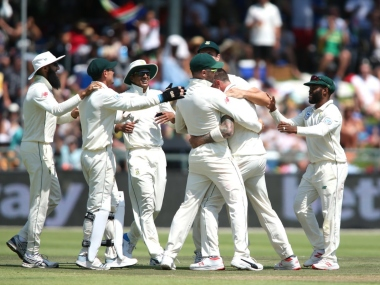 South Africa clinched the three-match Test series with a nine-wicket win over Pakistan at New Lands. Twitter @OfficialCSA