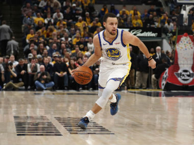 NBA Stephen Curry shines on milestone night as Warriors rout Pacers Nuggets rally past Grizzles in lowscoring contest