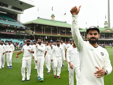 India recently became the first team to come out of a full tour of Australia without losing a series. AP