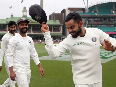 Virat Kohli is the only Indian captain to win a Test series in Australia. AP